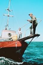 Jaws Robert Shaw Richard Dreyfus on Orca 18x24 Poster - $23.99
