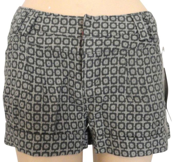 DKNY wool tweed shorts Size 28 NWT Mod pattern BRAND NEW  - $5.95