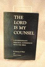 The LORD IS MY COUNSEL by Marion Wade a Businessman's  Bible Experience ... - $24.99