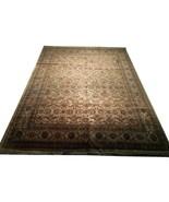 12x15 Light Gold Jaipur Wool Handmade Soft New Indian Rug - $4,292.99