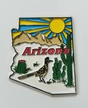 Vtg Arizona Estado Imán Viaje Recuerdo Frigorífico Decoración de Cocina - $7.90