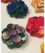 Recycled Crayon: Flower (Small) - $2.00