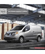 2012/2013 Nissan NV200 COMMERCIAL Compact vans brochure catalog US 13 Cargo - $8.00