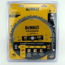 "New DeWalt DW3112 10"" 24 Teeth Construction Rip Table Saw Blade Lumber P... - $29.95"