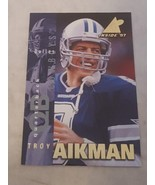 1997 Pinnacle Inside Promo #1 Troy Aikman Dallas Cowboys - $1.00