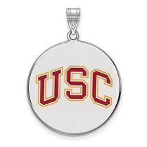 SS University of Southern California XLarge Enamel Disc Pendant - $102.00