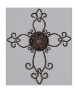 Inspirational Ornate Metal Wire Cross - $18.95