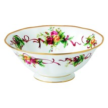 Royal Albert Old Country Roses Christmas Tree Serving Bowl 10 x 4 NEW (s) - $70.11