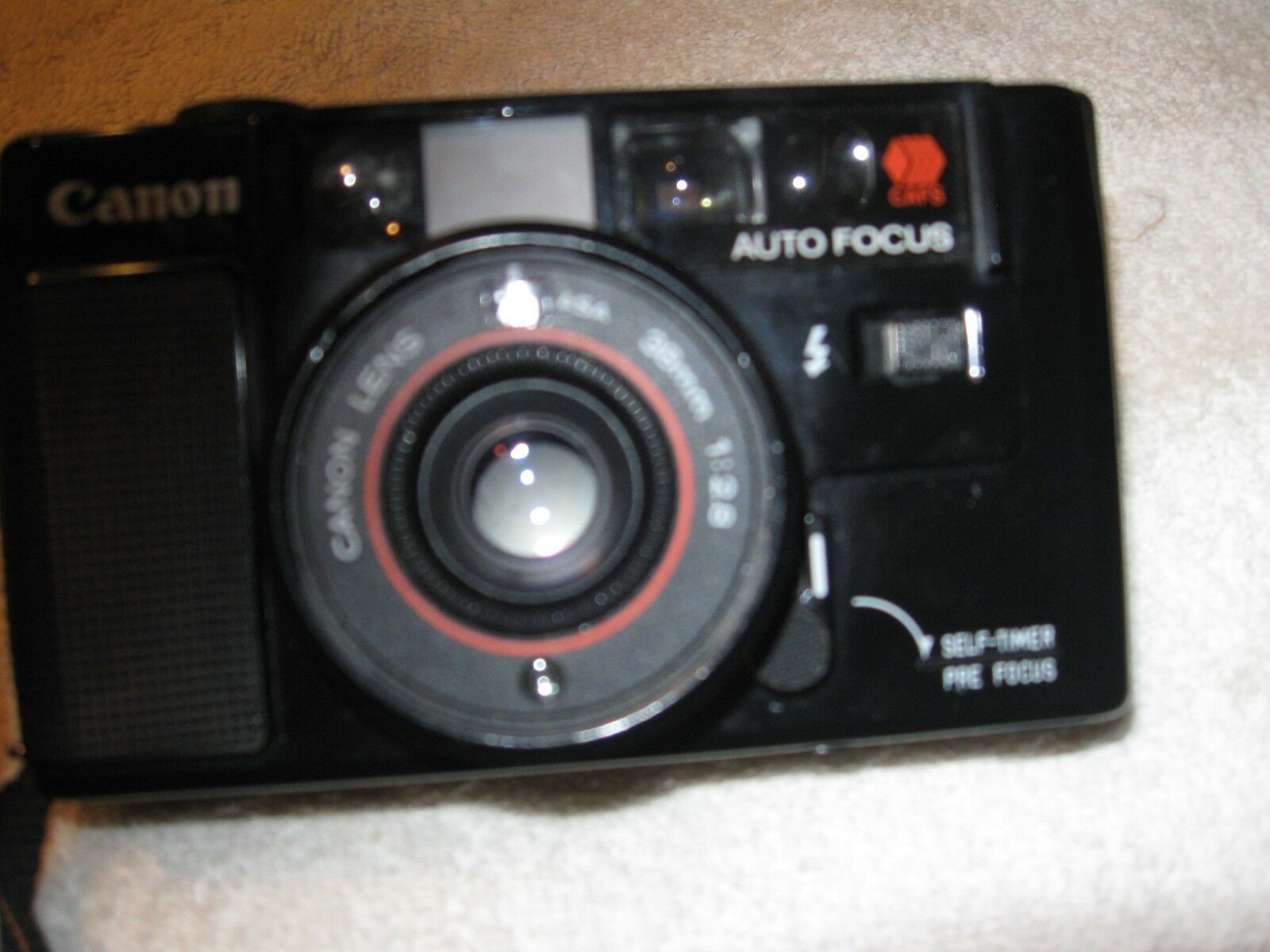 Canon AF35M 35mm Film Camera w/ 38mm f/2.8 Lens