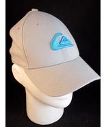 BASEBALL CAP HAT Quicksilver by New Era one size fits most grey trucker cap - $16.73