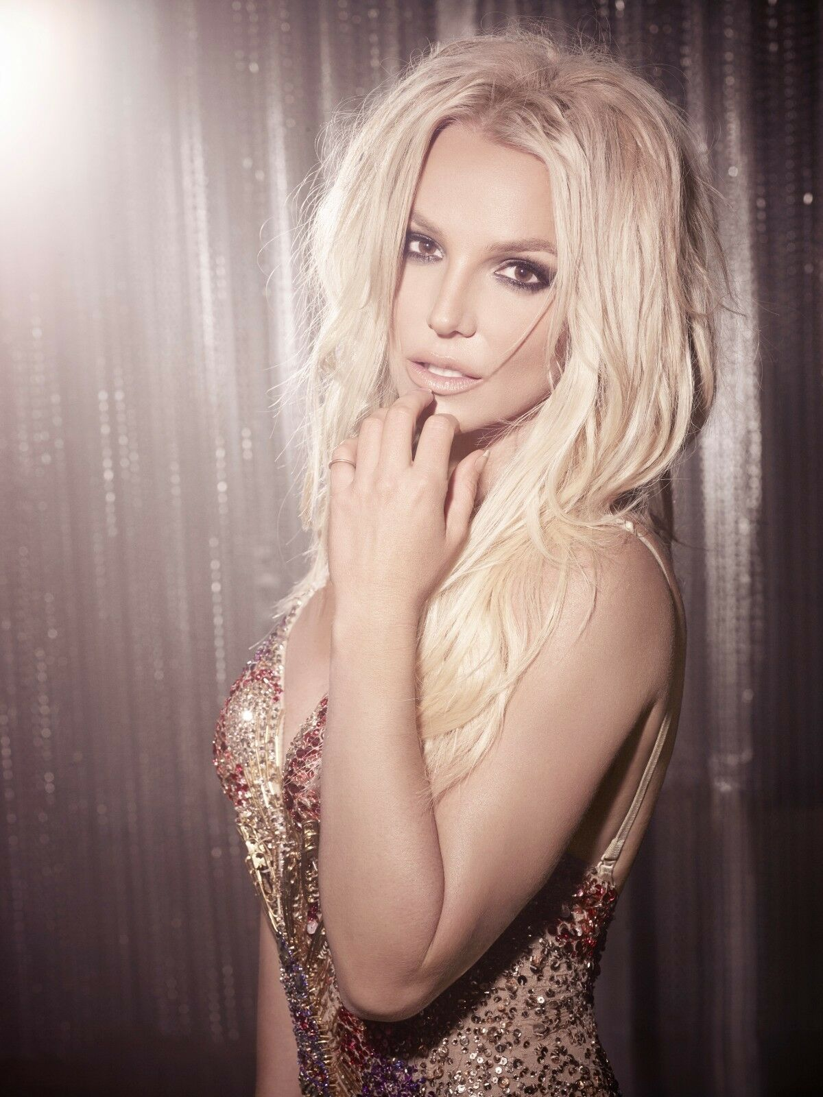 Primary image for BRITNEY SPEARS SHIMMER 2 POSTER 24 X 36 Inches Looks great