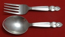 "Princess Ingrid by Frank Whiting Sterling Silver Baby Set 2-Piece 4"" - $129.00"