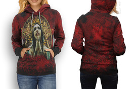 Rare new marilyn manson red hoodie women s thumb200