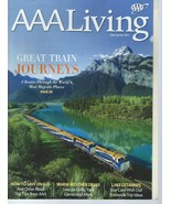 (22) AAA LIVING MAGAZINES 2011-2018-TRAVEL,SCENIC LOCATIONS,CAR INSURANC... - $99.99
