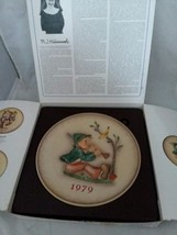 MI Hummel 1979 In Original Box 9th Annual Collector Plate Goebel West Germany - $15.99