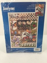 Janlynn Counted Cross Stitch Kit Spring Montage 017-0101 Floral Fruit Bu... - $18.69