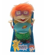 Vintage 1997 Nickelodeon Rugrats Scared Chuckie Finster Plush Doll Matte... - $36.47