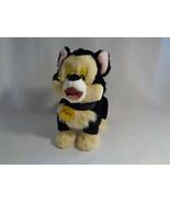 "Disney Tote A Tail Figaro Pinocchio Cat Soft Plush Toy 7"" - $9.65"
