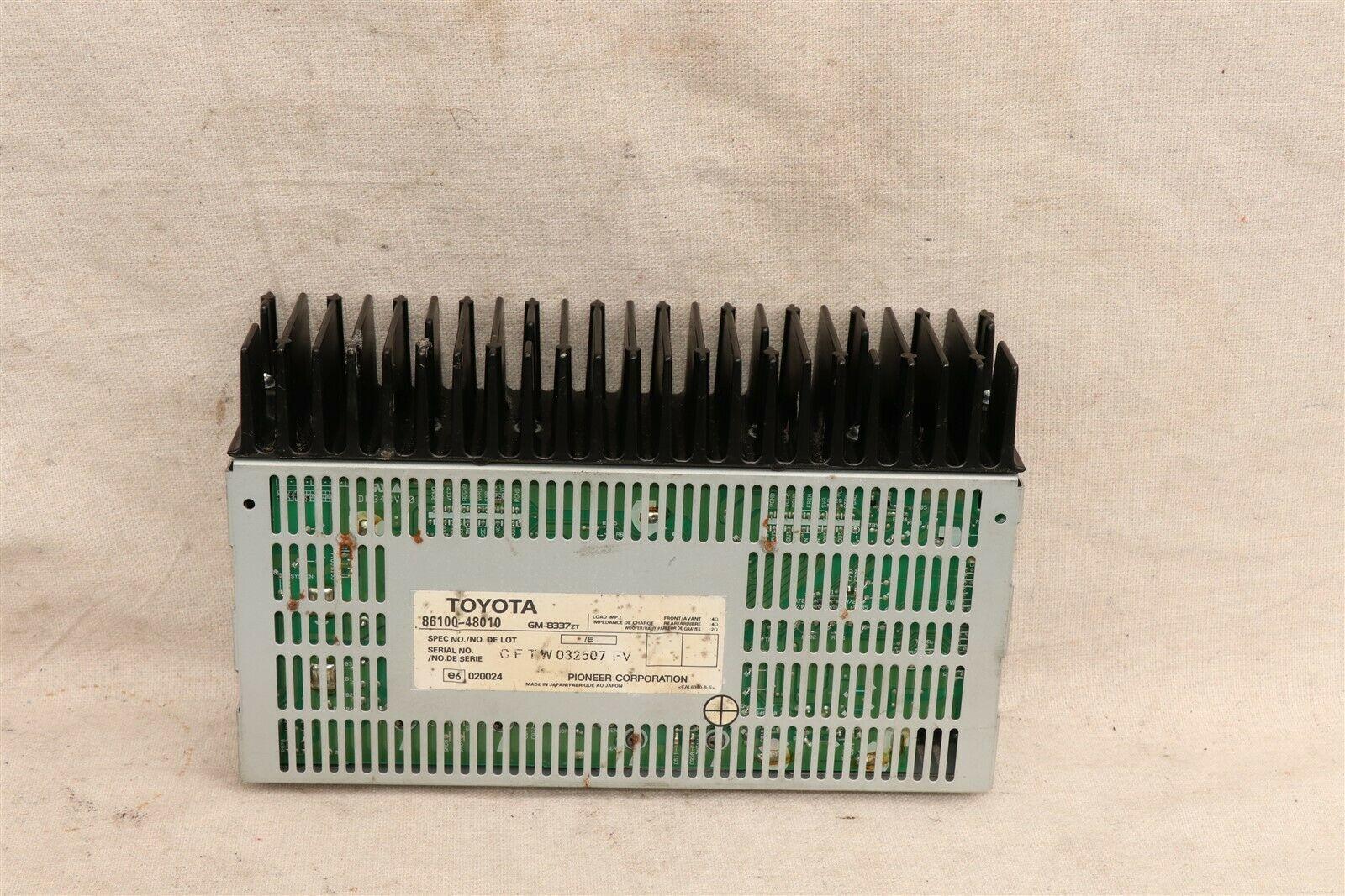 Lexus Toyota Pioneer Amp Amplifier 86100-48010, GM-8337ZT