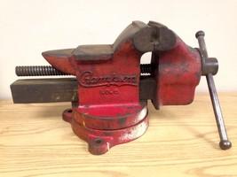 "RARE Vintage Champion No. 6 Machinist Anvil Bench Vise 6"" Jaws - $295.00"