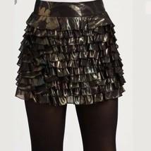NWT $478 Marc by Marc Jacobs black ruffled skirt - $152.45