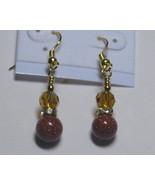 Sandstone drop earrings - $8.00
