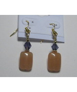 Sandal and purple earrings - $5.00