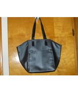 Victoria's Secret Tote Bag Black Purse Handbag Travel Carry On Luggage S... - $19.99