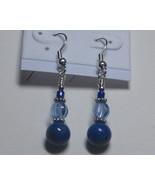 Lapis drop earrings - $7.00