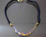 Blue crescent necklace thumb155 crop