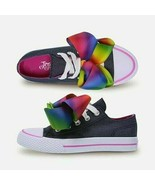 JoJo Siwa Size 3 LEGACEE Denim SNEAKER With Large Glamorous Bow JOJO Bow... - $38.61