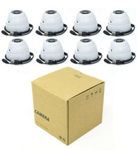 8x 4MP Outdoor CCTV Security Camera 3.6MM Fixed HD-CVI IR Eyeball Dome O... - $299.95