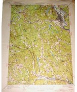 USGS Topographic Map NH 1927/1949 Concord Quad - $25.00