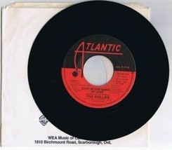 The Hollies Stop In The Name Of Love 45 rpm Record B Musical Pictures 1983 - $7.13