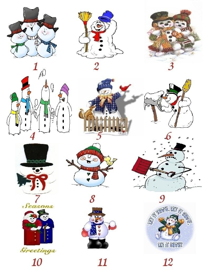 Custom Snowman Stationery Notepaper