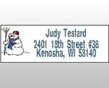 Snowman address labels thumb155 crop