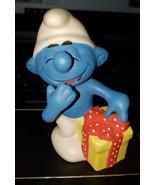 "1982 Jokey Smurf - Approx. 4"" - Wallace Berrie Ceramic Porcelain - $21.51"