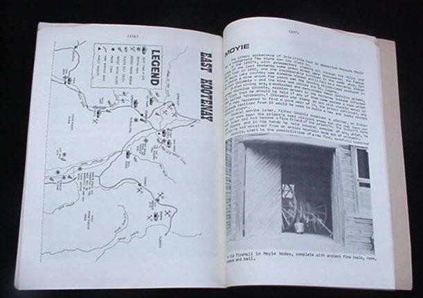 Old Kootenay British Columbia Canada Ghost Town Mining Book