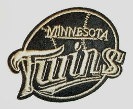 """Minnesota Twins Embroidered PATCH~3 1/8"""" x 2 1/2""""~Iron Sew On~MLB~Ships ... - $3.95"""