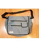 Jordan Sport Essentials Roksak Laptop Messenger Bag Gray with Black  Trim  - $21.73