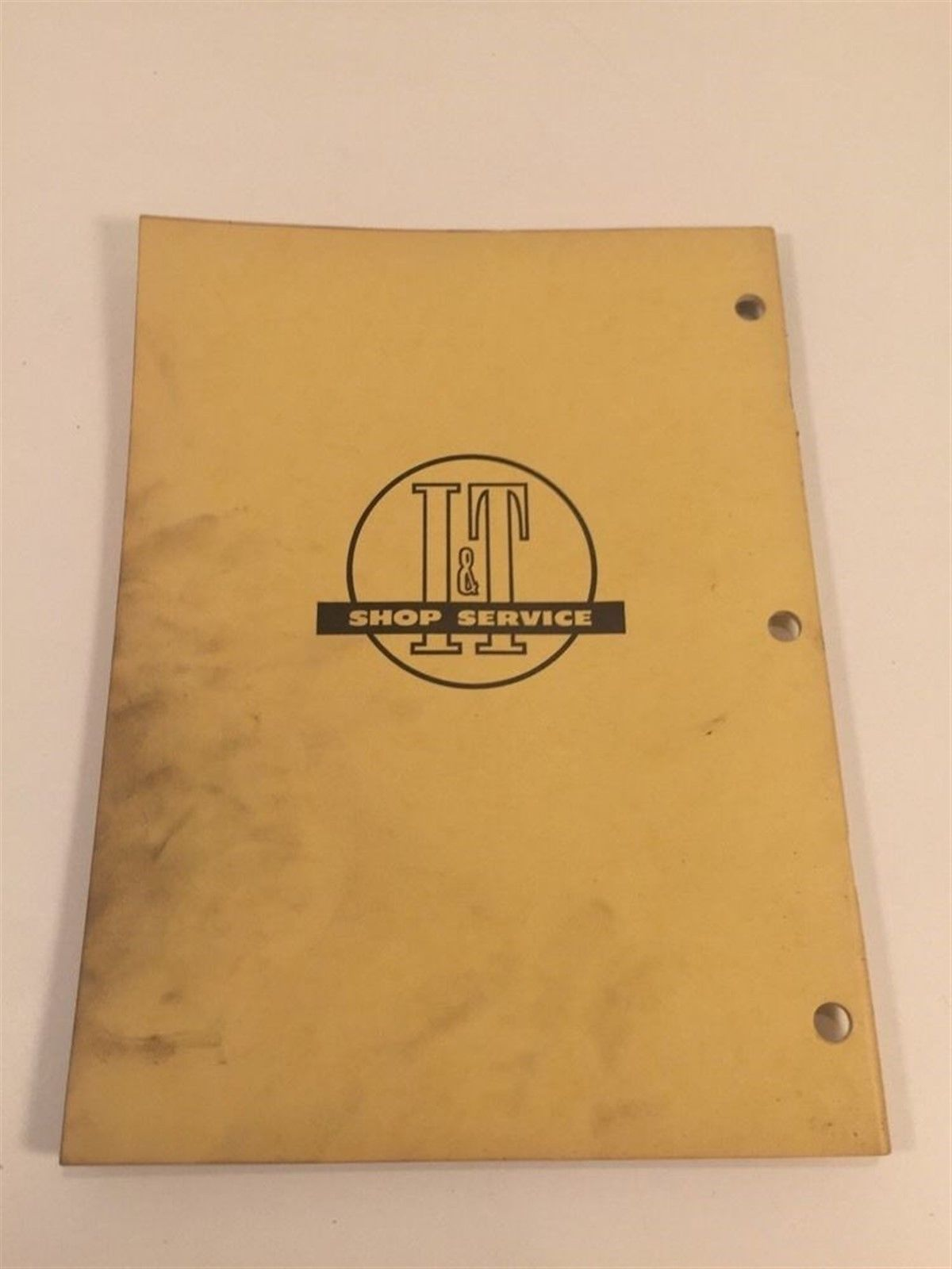 Vintage Implement & Tractor Manual - International Harvester A B C MTA W6TA D9