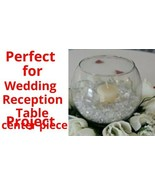 """10"""" Wedding reception decoration Glass Bowl Table Center Piece Crisa by ... - $12.86"""