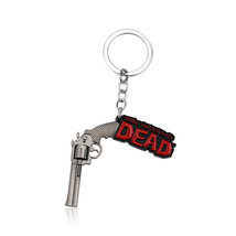 THE WALKING DEAD ALLOY KEY CHAIN NEW FREE SHIPPING  - $7.99