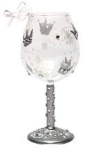 Lolita Mini Snow Queen Wine Glass Ornament New w Box Retired Rare Christmas - $186.99