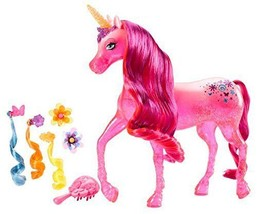 Barbie and The Secret Door Pink Unicorn Doll - $60.08