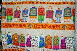 COTTON FABRIC - QUILT LINE FROM GRANDMA HATTIE FROM IN THE BEGINNING FAB... - $7.91