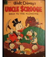 "RARE FOUR COLOR #456 UNCLE SCROOGE ""BACK TO THE KLONDIKE"" F/VF COMIC - $125.00"