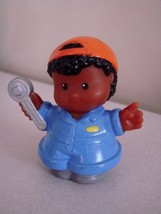 FISHER PRICE LITTLE PEOPLE Michael The Mechanic - $1.97