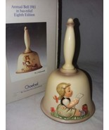 MI Hummel Annual Bell 1985 Eighth Edition In Original Box Goebel West Ge... - $14.99