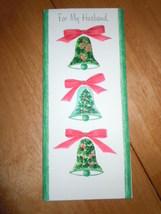 Vintage Hallmark Slim Jim For My Husband Christmas Bell Card - $9.99